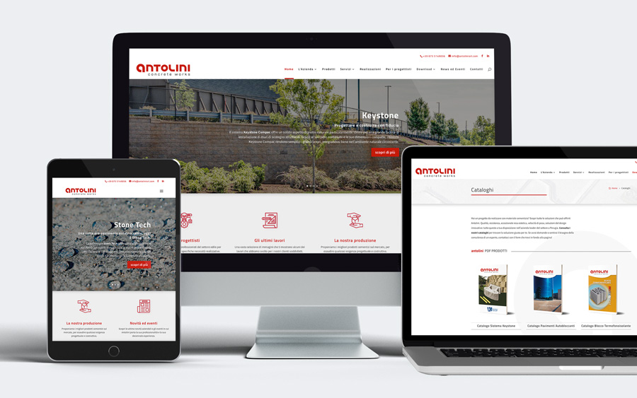 Il nostro nuovo sito web: antolinisrl.com si rinnova!